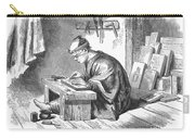 Japan: Wood Engraver Carry-all Pouch