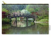 Japanese Bridge In Springtime Carry-all Pouch