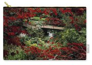 Japanese Garden, Through Acer In Carry-all Pouch