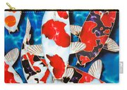 Japanese Koi Pond Carry-all Pouch