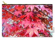 Japanese Maple Leaves 11 In The Fall Carry-all Pouch