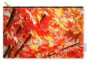 Japanese Maple Leaves 12 In The Fall Carry-all Pouch
