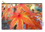 Japanese Maple Leaves 13 In The Fall Carry-all Pouch