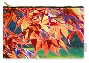 Japanese Maple Leaves 6 In The Fall Carry-all Pouch
