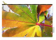 Japanese Maple Leaves 7 In The Fall Carry-all Pouch