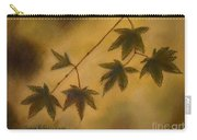 Japanese Maple Leaves Carry-all Pouch