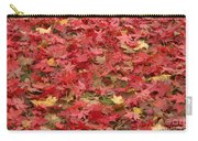 Japanese Red Maple Leaves Carry-all Pouch