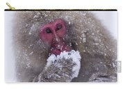 Japanese Snow Monkey Carry-all Pouch