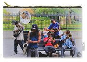 Jazz Band At Jackson Square Carry-all Pouch by Bill Cannon
