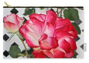 Jean's Roses Carry-all Pouch