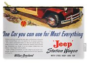 Jeep Station Wagon, 1947 Carry-all Pouch