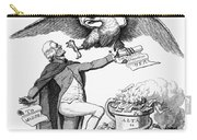 Jefferson: Cartoon, 1800 Carry-all Pouch by Granger