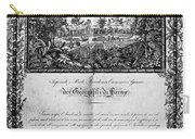 Jefferson: Degree, 1820 Carry-all Pouch