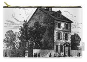 Jeffersons House, 1776 Carry-all Pouch