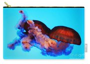 Jellyfish Drama - Digital Art Carry-all Pouch