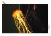 Jellyfish In Dark Carry-all Pouch