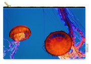 California Monterey Aquarium Jellyfish Exhibit  Carry-all Pouch