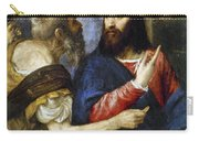 Jesus & Tribute Money Carry-all Pouch