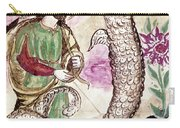 Jesus And Serpent Carry-all Pouch