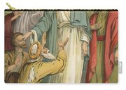 Jesus And The Blind Men Carry-all Pouch