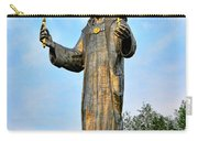 Jesus Christ Statue Carry-all Pouch