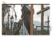 Jesus On The Hill Of Crosses. Lithuania Carry-all Pouch