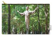 Jesus Statue Carry-all Pouch
