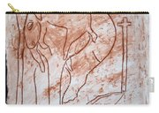 Jesus The Good Shepherd - Tile Carry-all Pouch by Gloria Ssali