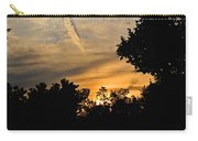 Jet Trail Sunset Carry-all Pouch