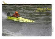 Jetboat In A Race At Grants Pass Boatnik With Text Carry-all Pouch