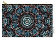 Jeweled Turquoise Carry-all Pouch