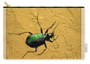 Jeweltone Beetle Carry-all Pouch