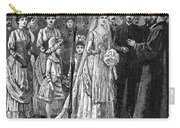 Jewish Wedding, C1892 Carry-all Pouch