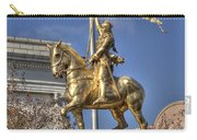 Joan Of Arc Statue New Orleans Carry-all Pouch
