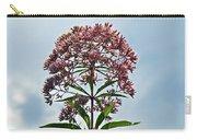 Joe-pye Weed Wildflower - Eupatorium Carry-all Pouch