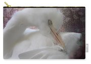 Joelle's Egret Carry-all Pouch