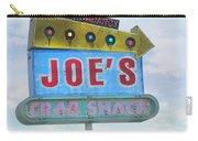 Joe's Crab Shack Retro Sign Carry-all Pouch