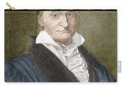 Johann Carl Friedrich Gauss, German Carry-all Pouch