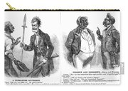 John Brown Cartoon, 1859 Carry-all Pouch by Granger
