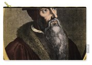 John Calvin, French Theologian Carry-all Pouch