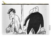 John F. Kennedy Cartoon Carry-all Pouch