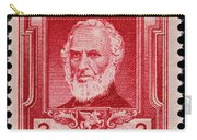 John Greenleaf Whittier Postage Stamp Carry-all Pouch