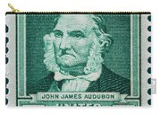 John James Audubon Postage Stamp Carry-all Pouch