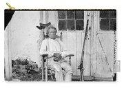 John L. Burns (1793-1872) Carry-all Pouch