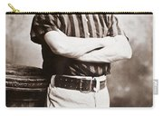 John M. Ward (1860-1925) Carry-all Pouch