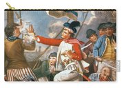 John Paul Jones Shooting A Sailor Who Had Attempted To Strike His Colours In An Engagement Carry-all Pouch