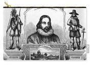 John Winthrop, English Puritan Lawyer Carry-all Pouch by Photo Researchers