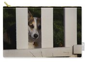 Johnny And The Picket Fence Carry-all Pouch