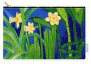 Jonquils And Bamboo Plant Carry-all Pouch