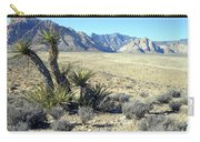 Joshua Tree And Mount Wilson Carry-all Pouch